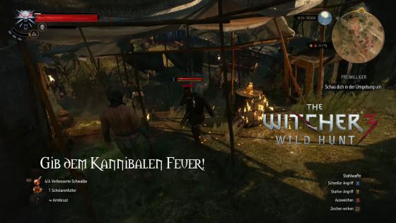 Witcher 3: Wild Hunt – #49 – Gib dem Kannibalen Feuer!