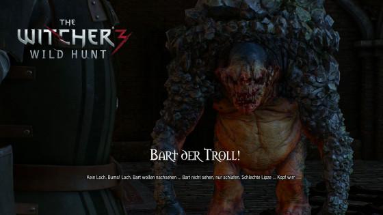 Witcher 3: Wild Hunt – #65 – Bart der Troll!
