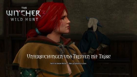 Witcher 3: Wild Hunt – #66 – Untersuchungen und Treffen mit Triss