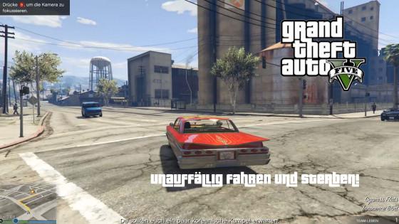GTA V Online- #96 – Unauffällig fahren und sterben!