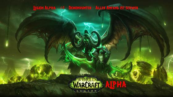 Legion Alpha – #1 – Demonhunter – Aller Anfang ist schwer