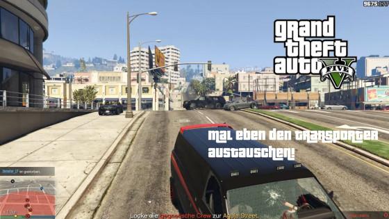 GTA V Online- #109 – Mal eben den Transporter austauschen!