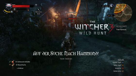 Witcher 3: Wild Hunt – #101 – Auf der Suche Nach Hammond!