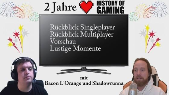 """Zwei Jahre """"History of Gaming"""" [FACECAM] – Rückblick auf zwei Jahre Let's Play (1/2)"""