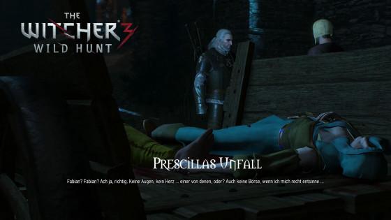 Witcher 3: Wild Hunt – #84 – Prescillas Unfall