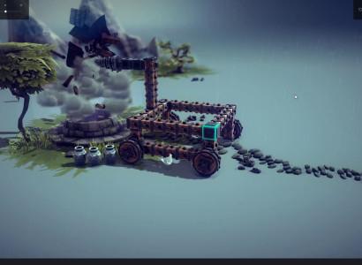 Let's Test: Besiege – #25 – Die Maschine geht so lange zum Brunnen, bis er bricht!