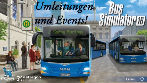 Bus Simulator 16 – #6 – Umleitungen und andere Events!