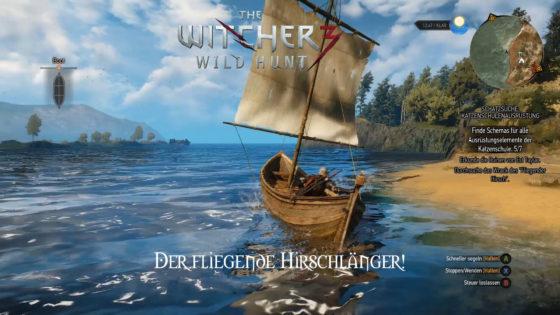 Witcher 3: Wild Hunt – #135 – Der fliegende Hirschländer!