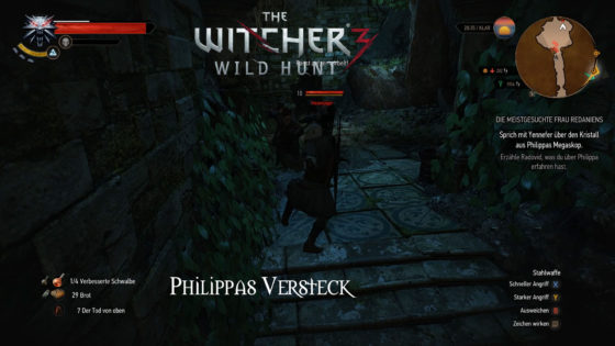 Witcher 3: Wild Hunt – #136 – In Philippas Versteck
