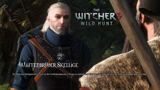 Witcher 3: Wild Hunt – #146 – Waffenbrüder Skellige