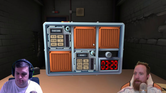 Keep Talking and Nobody Explodes – [Doppel-Facecam] – #09 – Uh huh, uhhh!