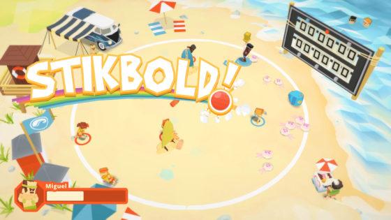 Stikbold – #2 – Am Strand gehts rund