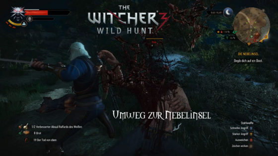 Witcher 3: Wild Hunt – #149 – Umweg zur Nebelinsel