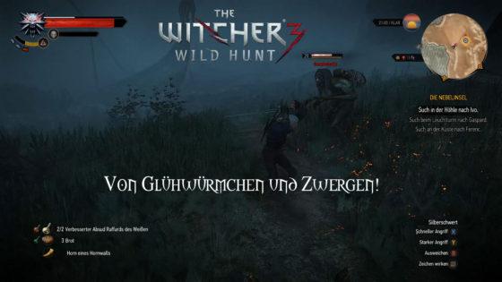 Witcher 3: Wild Hunt – #151 – Von Glühwürmchen und Zwergen