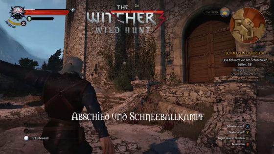 Witcher 3: Wild Hunt – #155 – Abschied und Schneeballkampf!