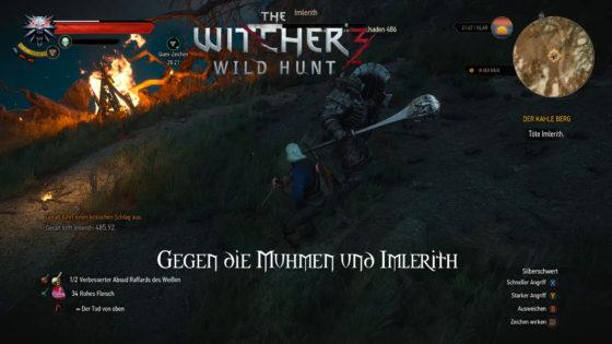 Witcher 3: Wild Hunt – #157 – Gegen die Muhmen und Imlerith!