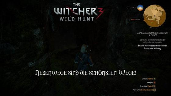 Witcher 3: Wild Hunt – #158 – Nebenwege sind die schönsten Wege!
