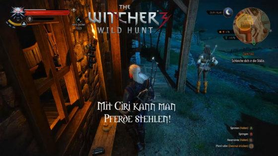 Witcher 3: Wild Hunt – #162 – Mit Ciri kann man Pferde stehlen!