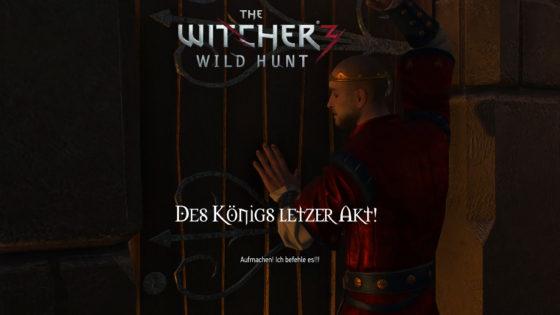 Witcher 3: Wild Hunt – #164 – Des Königs letzter Akt!
