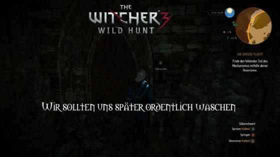 Witcher 3: Wild Hunt – #165 – Wir sollten uns später ordentlich Waschen!