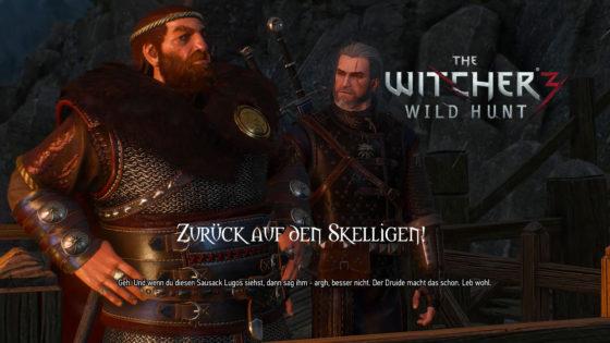 Witcher 3: Wild Hunt – #166 – Zurück auf den Skelligen