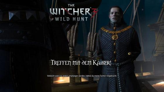 Witcher 3: Wild Hunt – #167 – Treffen mit dem Kaiser