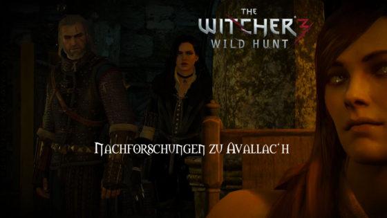 Witcher 3: Wild Hunt – #168 – Nachforschungen zu Avallac'h