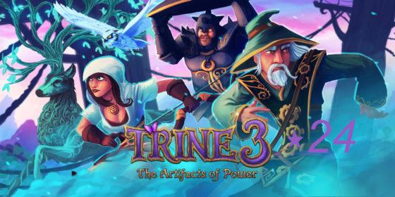 """Trine 3 – #24 – Das """"Ding"""" will doch sicherlich nur spielen!"""