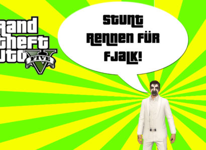 GTA V (Grand Theft Auto) – #195 – Stuntrennen für Fjalk!