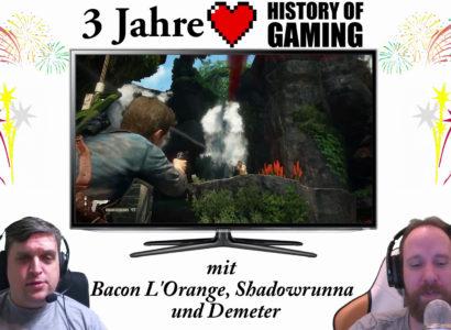 """Drei Jahre """"History of Gaming"""" [FACECAM] – Rückblick auf drei Jahre Let's Play (1/2)"""