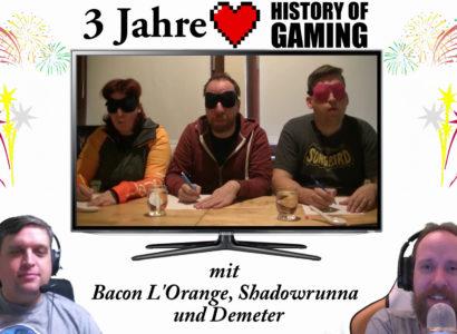 """Drei Jahre """"History of Gaming"""" [FACECAM] – Rückblick auf drei Jahre Let's Play (2/2)"""