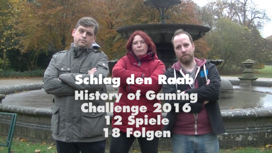 History of Gaming Challenge 2016 – #16 – Schlag den Raab (1/2)