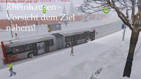 Vorsichtig dem Ziel nähern! – Rheinhausen (Linie 51)
