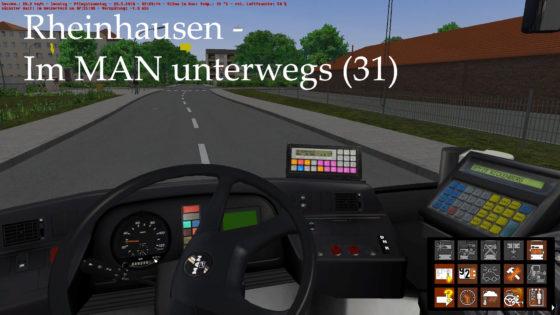 OMSI 2 – #93 – Im MAN unterwegs (Linie 31) – Rheinhausen