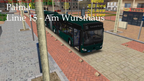OMSI 2 – #129 – Palma: Am Wursthaus- Lets Play