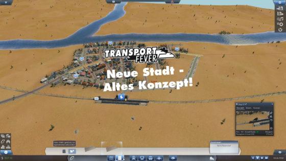 Transport Fever – #20 – Neue Stadt, altes Konzept