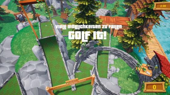 Golf It! – #6 – Viele Möglichkeiten zu Failen!