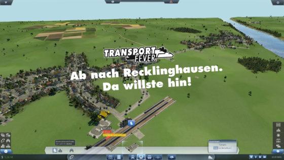 Transport Fever Ruhrgebiet – #9 – Ab nach Recklinghausen. Da willste hin!