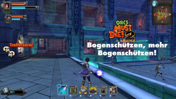 Orcs Must Die 2 – #13 – Bogenschützen, mehr Bogenschützen