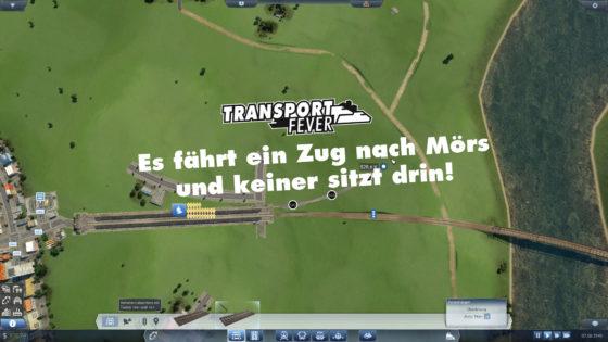 Transport Fever Ruhrgebiet – #27 – Es fährt ein Zug nach Mörs und keiner sitzt drin!