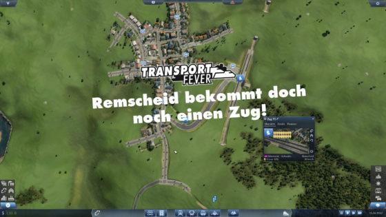 Transport Fever Ruhrgebiet – #28 – Remscheid bekommt doch noch einen Zug!