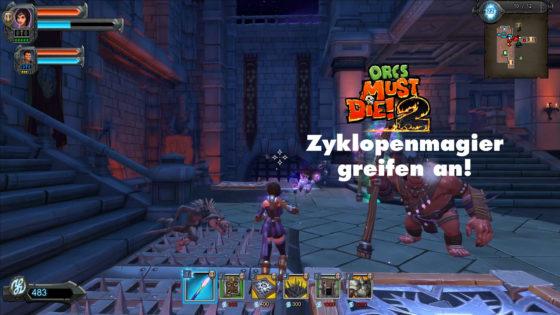 Orcs Must Die 2 – #17 – Zyklopenmagier greifen an!
