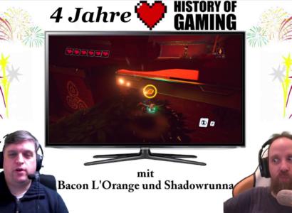 "Vier Jahre ""History of Gaming"" [FACECAM] – Rückblick auf vier Jahre Let's Play"