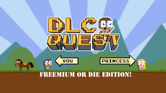 DLC Quest – #2 – Freemium or Die Edition!