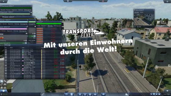 Transport Fever Ruhrgebiet – #44 – Mit den Einwohnern durch die Welt!