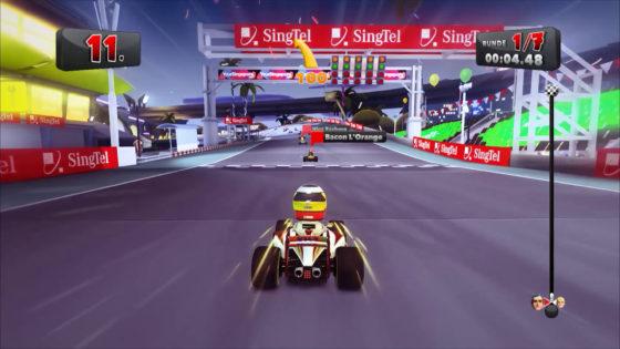 F1 Race Stars ? #15 – 3er-Blasen in Singapur!