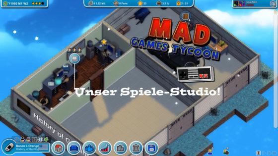 Mad Games Tycoon – #1 – Unser Spiele-Studio