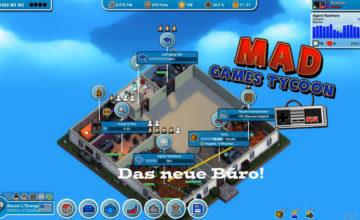 Mad Games Tycoon – #4 – Das neue Büro!
