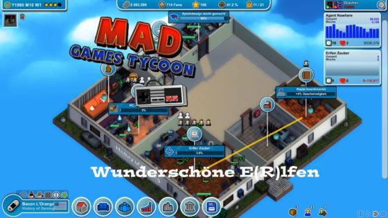 Mad Games Tycoon – #5 – Wunderschöne E(R)lfen!