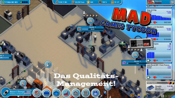Mad Games Tycoon – #14 – Das Qualitätsmanagement